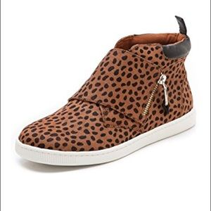 Rebecca Minkoff Deacon Calf Hair Leopard Sneaker 7